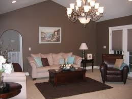 image of living room color schemes wall brown