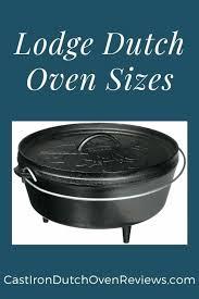 Dutch Oven Size Chart Busraguler Co