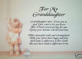 Beautiful Granddaughter Quotes Best Of Happy Birthday Granddaughter Poems