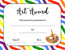 Free Award Certificate Templates For Students Free Award Certificate Templates For Students Art Temlates Student