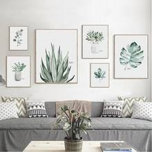 Best value Home Decor <b>Watercolor Plant</b> – Great deals on Home ...