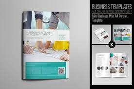 Business Plan Template A4 Portrait Templates 833361160277