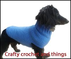 Crochet Dog Pattern Cool Ravelry Crochet Dachshund Sweater Crochet Dog Sweater Pattern By