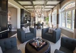 luxury home lighting. Toll Brothers Sitting Area Featuring Equinox Pendant Luxury Home Lighting N