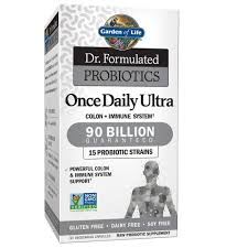 com garden of life dr formulated probiotics once daily ultra acidophilus probiotic supports colon digestion immune system gluten