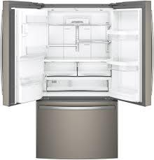 Best Cabinet Depth Refrigerator Ger Energy Starr 222 Cu Ft Counter Depth French Door