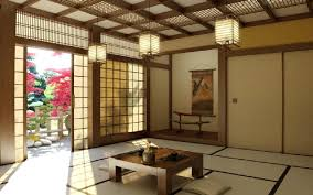 Classic Japanese Style Interior Design History With Interesting Interor In  Living Room Pendantinterior Periods A Of
