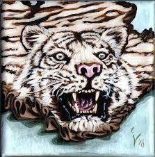 real tiger rug white tiger rug by