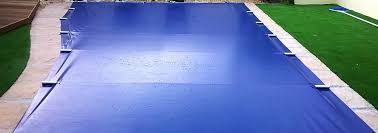 pool covers. Perfect Pool PowerPlastics Solid Safety Cover BlueBlack Intended Pool Covers N