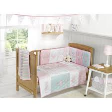 3 pc b princess baby bedding set cot cot bed per coverlet fitted sheet