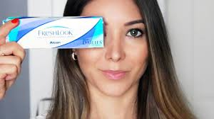 Freshlook Color Chart For Dark Eyes Colored Contact Lenses For Dark Brown Eyes Freshlook Try On Review