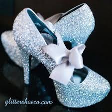 Light Blue Glitter Heels Cinderella Blue Sparkly Glitter Heels Light Blue Satin