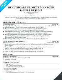 Healthcare Administration Certification Sample Resume Of Resume