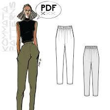 Jogger Pants Pattern