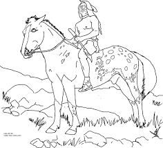 Native American Coloring Pages Free Collection Printable Coloring