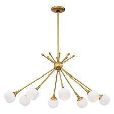 retro modern lighting. Chandeliers Modern For Foyer Retro Lamps Entryway Chandelier Mid Century Style Ceiling Fan Lighting