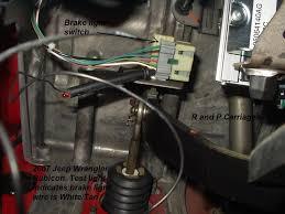 2007 Jeep Commander Brake Light 2007 Jeep Wrangler Truck Brake Controller Installation