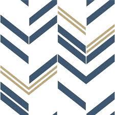 roommates blue chevron stripe l amp stick wallpaper and stripes watercolor