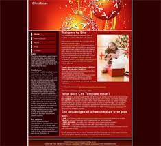 Free Christmas Website Templates Free Holiday Templates Free Christmas Templates