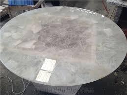 stone table tops. White Quartz Semiprecious Stone Table Tops G