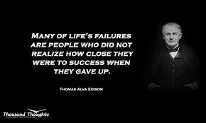 Thomas Edison Quotes Best Thomas Alva Edison Archives Thousand Thoughts