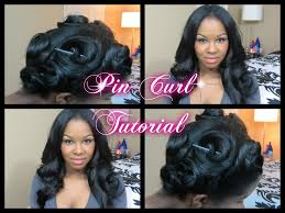 Pin Curl Hair Style how to pin curl tutorial make your curls last without heat 6140 by stevesalt.us