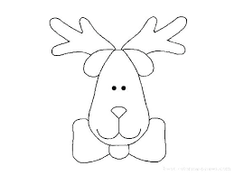 Christmas Reindeer Coloring Pages Reindeer Coloring Pages Unique