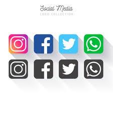 facebook and twitter logo jpg. Modren Jpg Popular Social Media Logo Collection For Facebook And Twitter Logo Jpg W