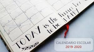 Resultado de imagen de calendario escolar 2019-2020 extremadura