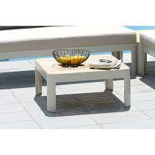 portals outdoor square coffee table in