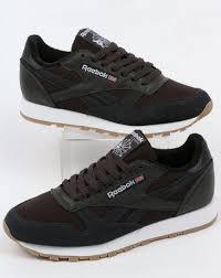 reebok reebok classic leather estl trainers coal white
