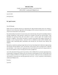 Cover Letter Attorney Position Resume Cover Letter Attorney