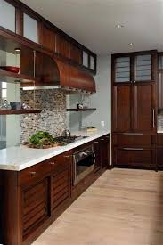 Small Picture Dark brown cabinets granite counters and backsplash exactly