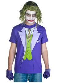 mens joker costume t shirt