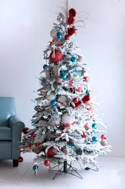 red and blue tree