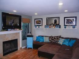 Turquoise And Brown Living Room Brilliant Turquoise And Brown Living Roomin Inspiration To Remodel