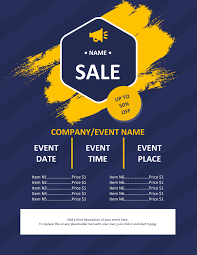 Flyer Poster Templates 45 Free Poster And Flyer Templates Clean Simple And