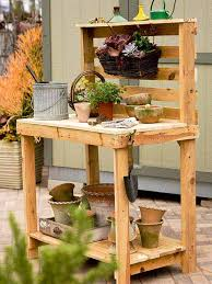 images of pallet furniture. #4 Materialize A Small Gardening Office To Aid You In Greenery Endeavors Images Of Pallet Furniture