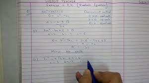 chapter 4 exercise 4 4 quadratic equations maths class 10 ncert in english or hindi