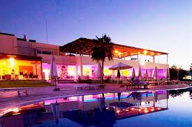 Pathos lounge bar stunning lighting Sunset Hotelscombined Theo Sunset Bay Holiday Village Paphos Compare Deals