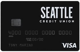 seattle credit union visa credit card