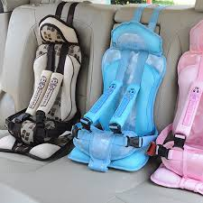 car seat belt cover child new 1 5 years old baby portable car safety seat kids
