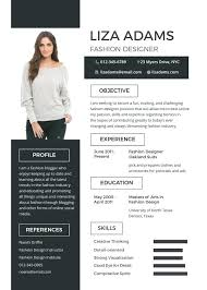 Unique Resume Templates Best Fashion Designer Resume Template Creative Templates Free Online