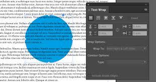 text wrap indesign cc 2017 redokun