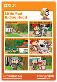 the poster is based on a story from learnenglish kids s learnenglishkids britishcouncil org en short stories little red riding hood