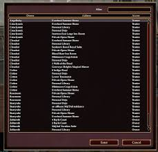 everquest ii news multiple home ownership now live in eqii on unique house  names list