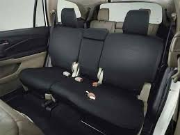 genuine oem 2016 2019 honda pilot 2nd row seat covers
