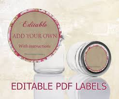 printable labels for mason jars mason jar labels editable labels for mason jars editable