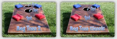 Wooden Bean Bag Toss Game Bag Toss Cornhole Shop 19