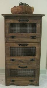 vegetable bin for kitchen farmhouse vegetable bin storage for onions potatoes snacks rustic country furniture bathroom